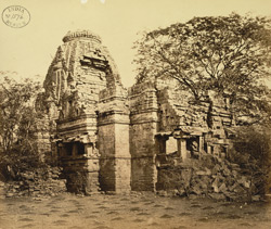 View from the north-east of the Bhimanath Sun Temple, Babriawad, Kathiawar